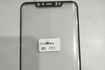 Huawei Mate 20 Pro front panel leak reveals cut-outs for Face ID-like tech