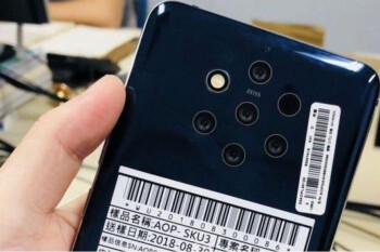 That bonkers Nokia 9 with five cameras was apparently certified in China way back in May
