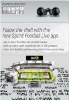 Sprint's Football Live App will keep you updated on the draft