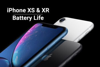 iPhone XR, iPhone XS and XS Max: battery life comparison