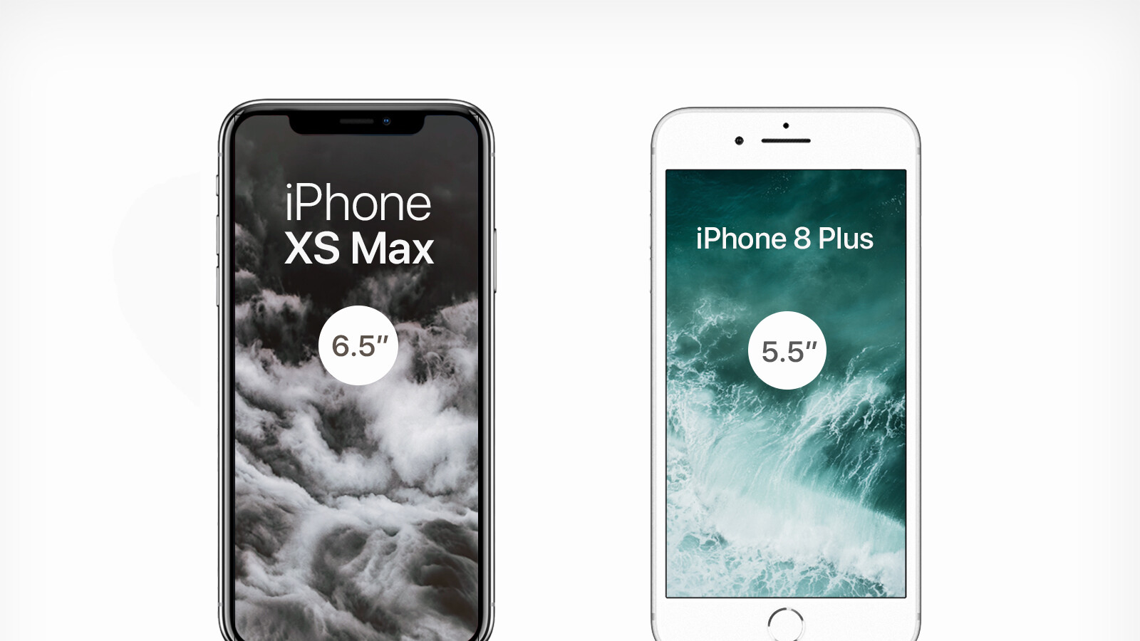 """On paper, the 6.5"""" iPhone Xs Max sounds huge. The sizeable Galaxy Note 9 is 6.4"""". It certainly is the biggest screen Apple has ever put on an iPhone, ..."""