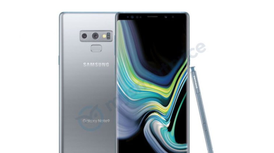 A silver Galaxy Note 9 version may be in the works, pass the Grey Goose!