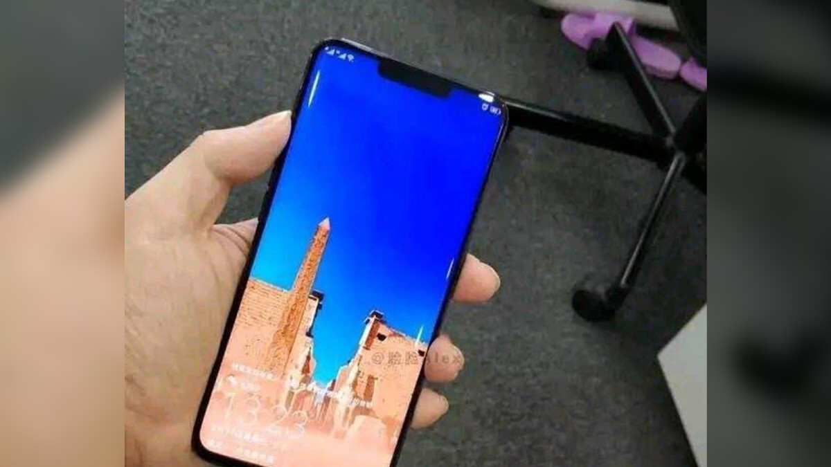 Huawei Mate 20 Pro appears in the flesh in leaked photo