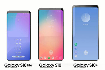 Rumor: Samsung testing a Galaxy S10 with a rear fingerprint scanner. Does that mean no in-display scanner?