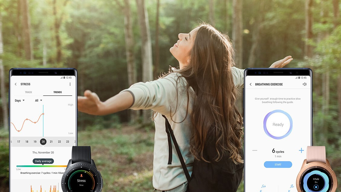 Samsung releases improved Health app that's more about you and your wellbeing