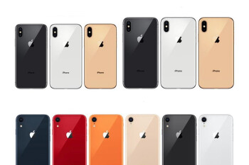 """The 6.1"""" iPhone XR will be available in 6 color versions, here they are"""