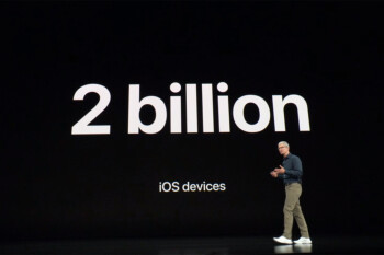 Two billion devices run iOS globally, a huge milestone