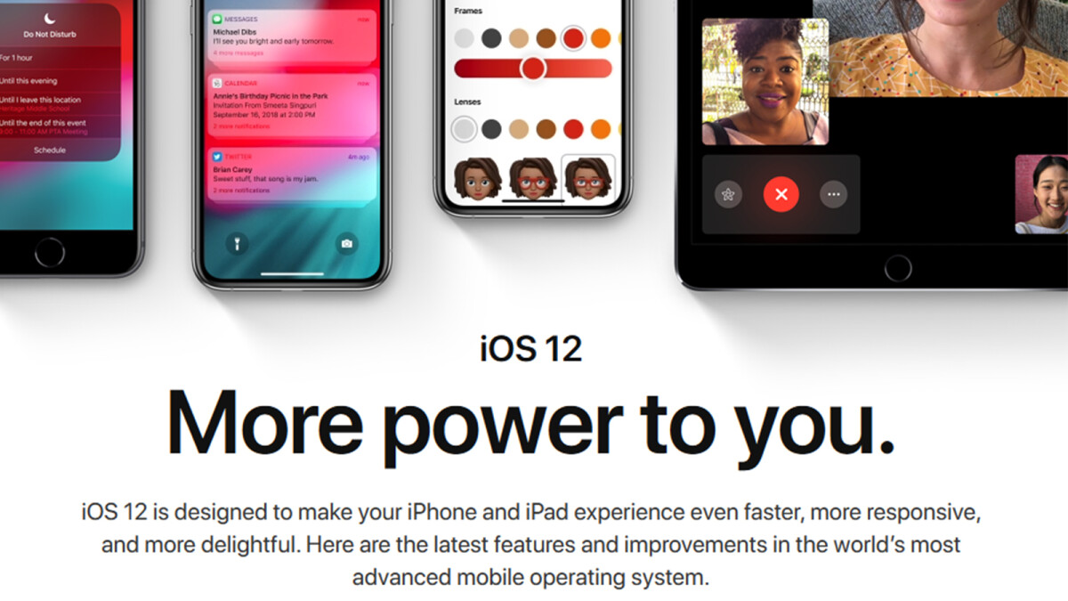 iOS 12 release date announced: Here's when you're getting it