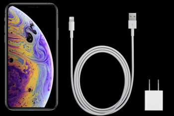 Fast-charging the iPhone XS, Max and XR is still out of the box and $68 extra