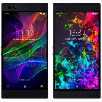 The Razer Phone 2 looks almost identical to the original in new render