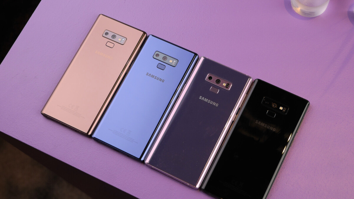 Sprint drops a Note 9 deal: get it for $15 per month