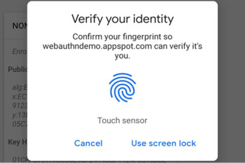 Chrome adopts fingerprint authentication on Android for increased security