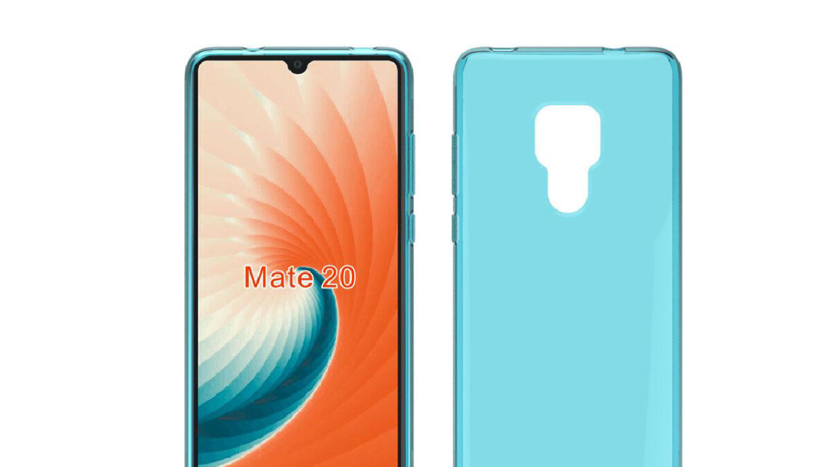 Huawei Mate 20 & Mate 20 Pro cases confirm no 3.5mm headphone jack