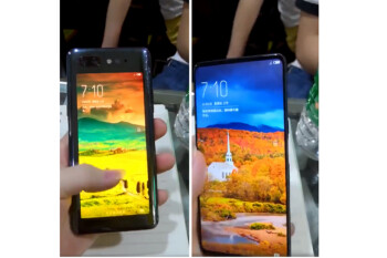 Nubia's dual-display handset surfaces with a bezel-less front screen and a useable rear display?