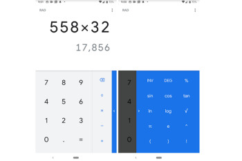 Google Calculator app gets the Material Design treatment