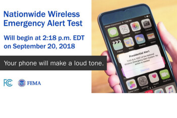 Presidential Alert text message to test WEA is now delayed until next month