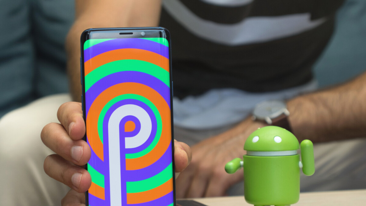 First look at new gesture navigation on Samsung Galaxy S9 (Android Pie-d)