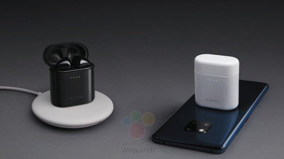 Huawei's next AirPods rival will charge wirelessly on top of the Mate 20