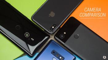 Sony Xperia XZ3 vs Galaxy Note 9 vs Pixel 2 XL vs iPhone X: camera comparison