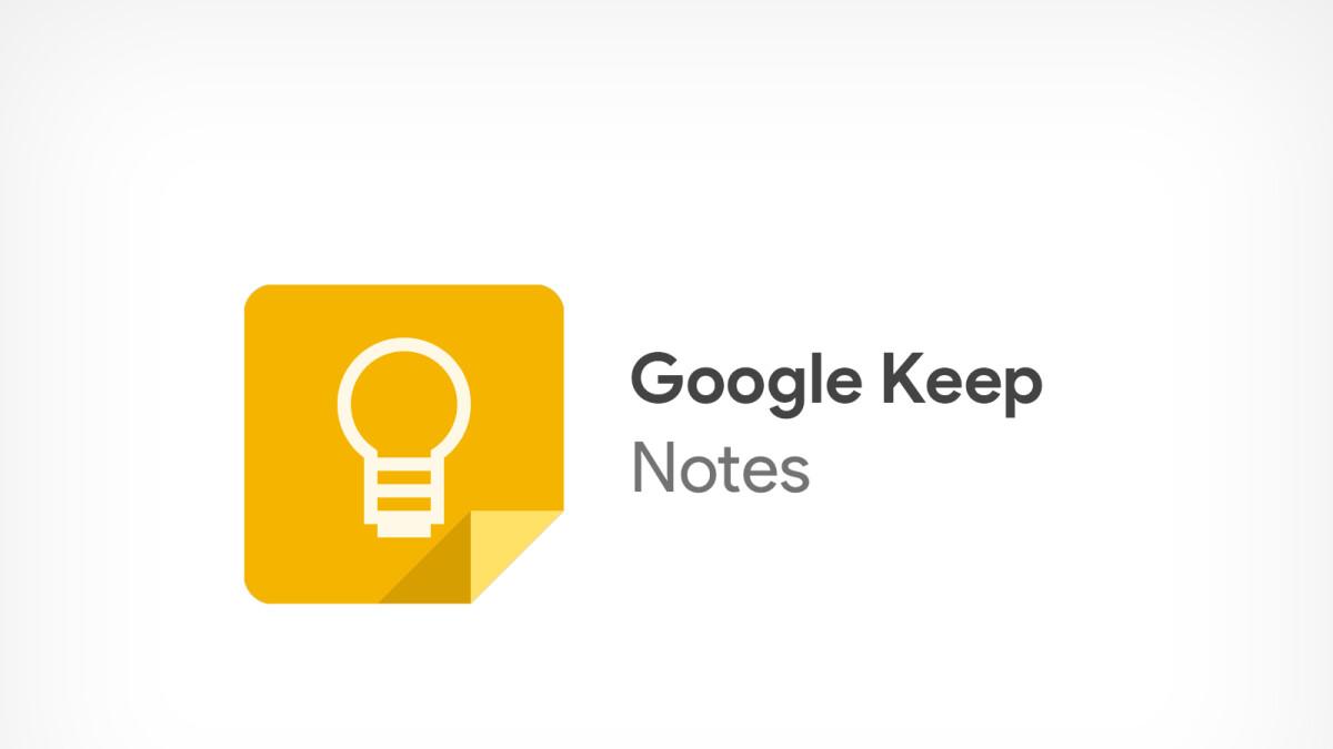 Google Keep is being rebranded as Keep Notes