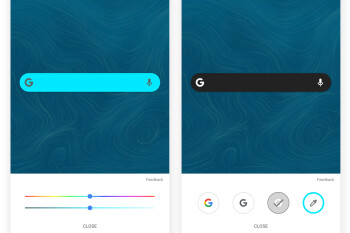 Customizable Google Search widget starts rolling out for some