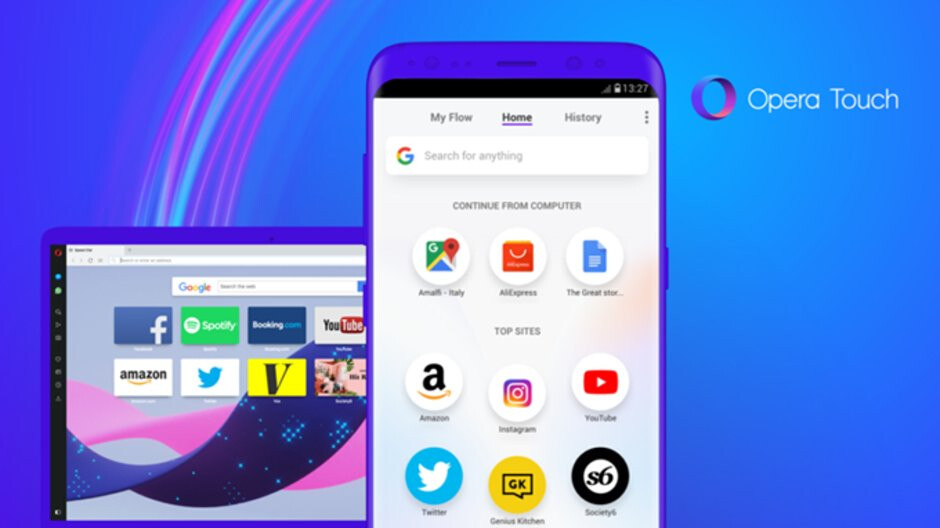 Opera Touch for Android update adds dark theme, improvements