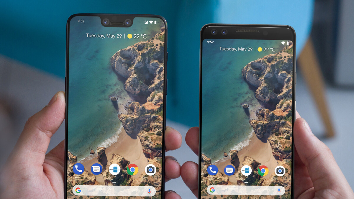 Google Pixel 3 and Pixel 3 XL: how big are they and how do they compare to the previous models?