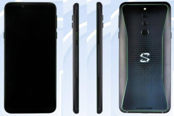 Xiaomi Black Shark 2 gaming phone swings by Tenaa with refined design, same screen size