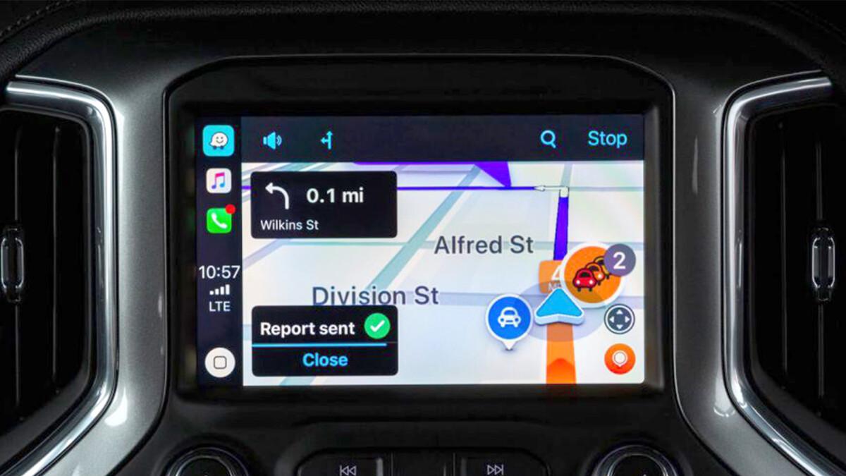 Popular navigation app Waze now works with Apple CarPlay