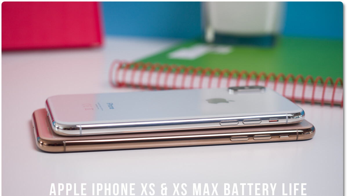 The iPhone XS and Max do fine on the battery life test, but fall short of one Apple claim