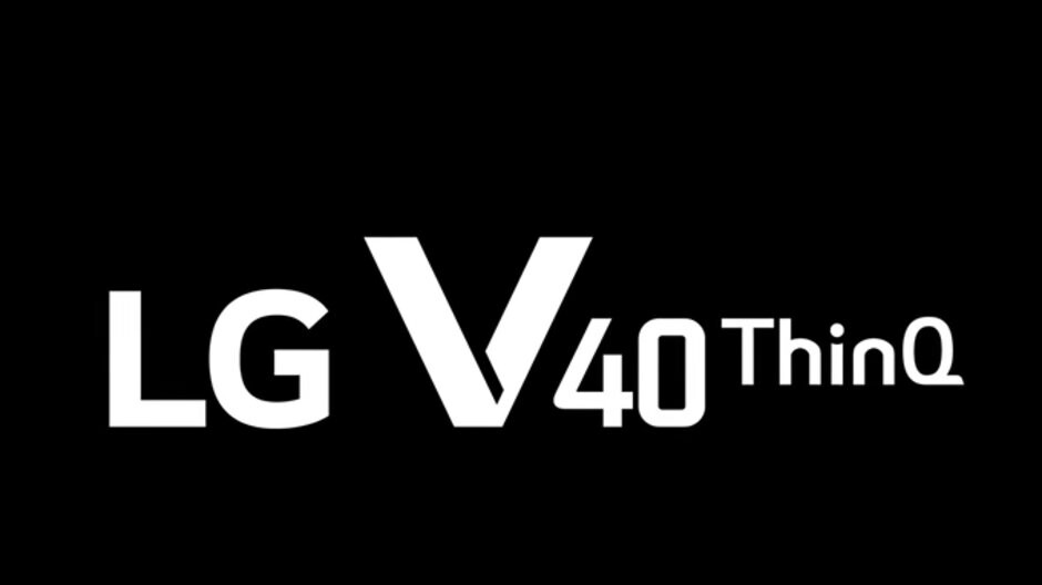 LG V40 ThinQ official teaser shows the phone from all angles