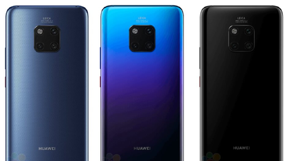 Blue Mate 20 Pro caught live on the subway, a fingerprint magnet