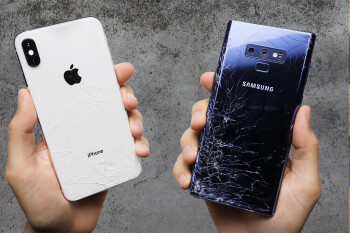 The iPhone XS Max glass is indeed rather durable, machine drops reveal