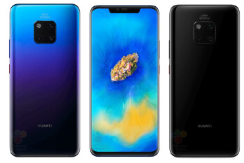 Here are all the Huawei Mate 20 (Pro) and Mate 20 Porsche Design storage configurations
