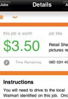 Field Agent is an iPhone app that pays you for a change