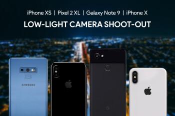 iPhone XS vs Pixel 2 XL vs Galaxy Note 9 vs iPhone X: low-light camera comparison
