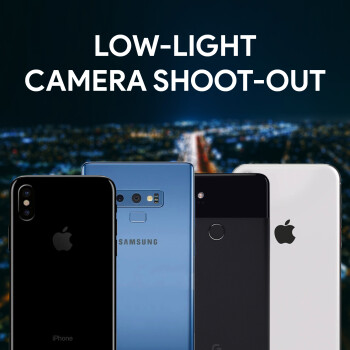 iPhone XS vs Pixel 2 XL vs Galaxy Note 9 vs iPhone X: low-light camera comparison