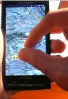Ten seconds that confirm multitouch on the Xperia X10?