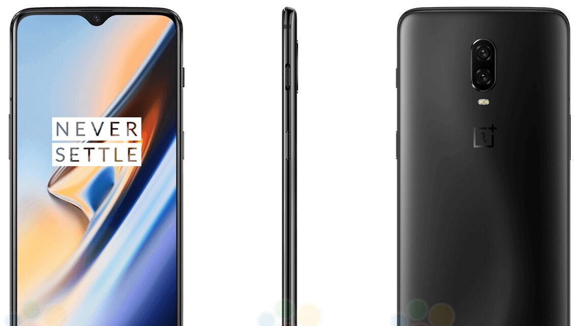 OnePlus 6T bares all in Midnight Black and Mirror Black 'official marketing pics'