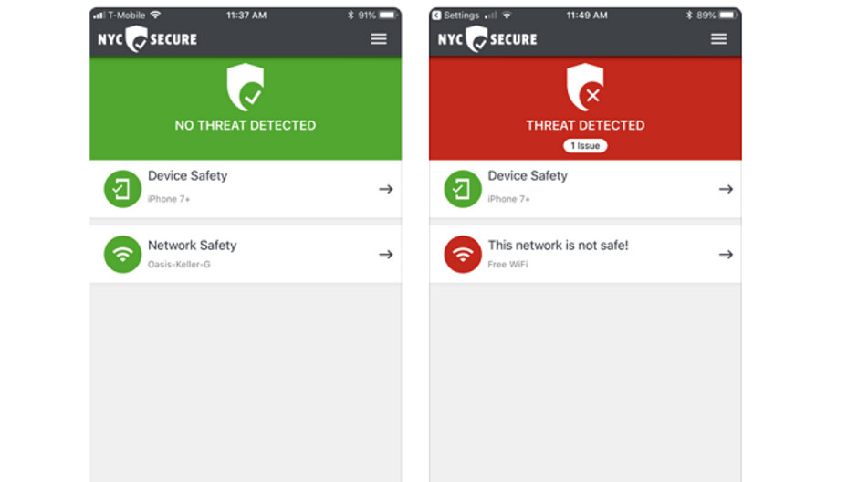 New York City launches an app to defend against mobile security threats