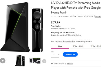Deal: NVIDIA SHIELD TV purchases come with free Google Home Mini at Best Buy, Walmart