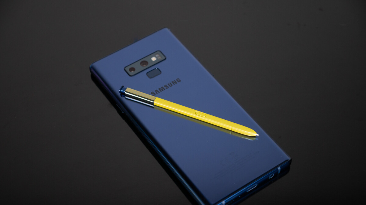 The Galaxy Note 9 S Pen is about to get mightier