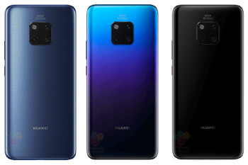 Leaked Mate 20 promo video keeps it mysterious with triple camera but waterdrop notch