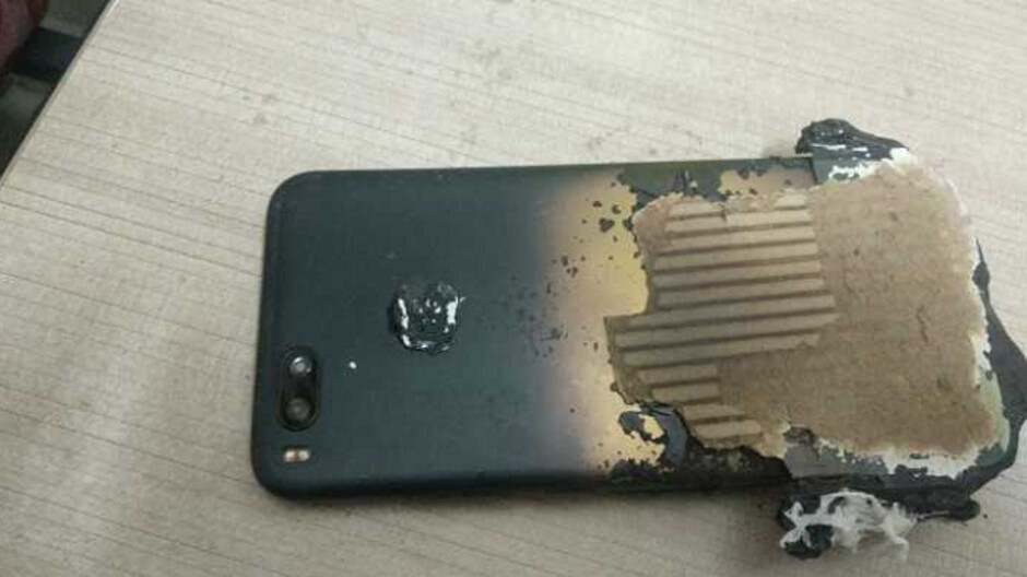 Xiaomi Mi A1 allegedly explodes while a fingerprint bug kills the battery on the Xiaomi Mi A2