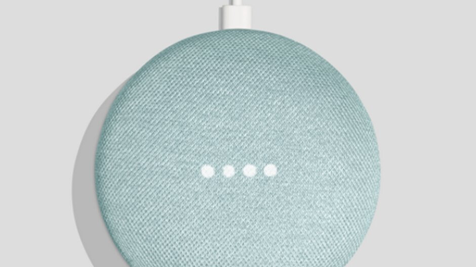 Google Home Mini in Aqua coming later this month