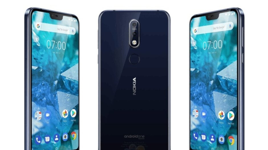 Nokia 7.1 (non-Plus) leaks in full with 5.8-inch 'notchy' screen, Snapdragon 636