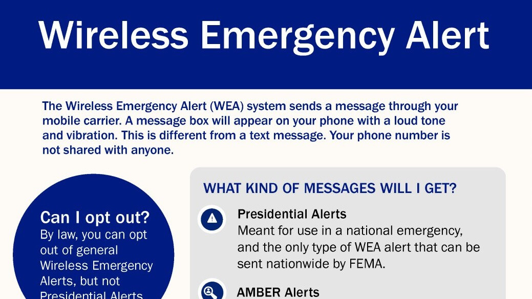 First-ever Presidential Alert is ready to go out to every US phone in WEA test