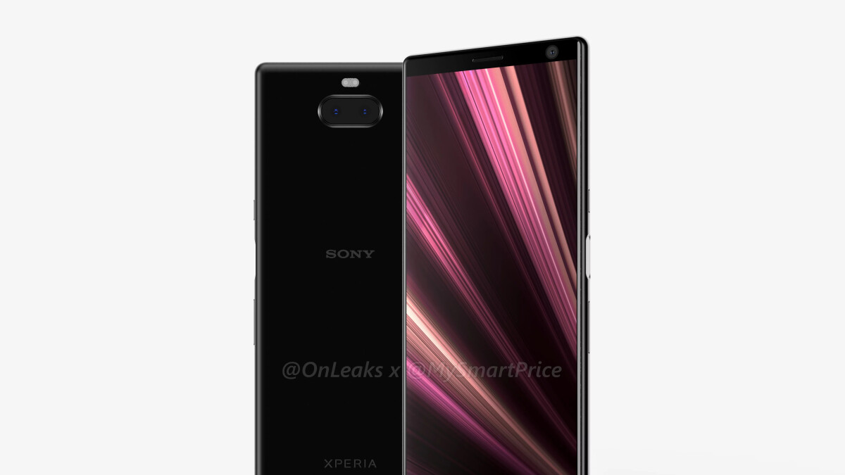 Sony Xperia XA3 Ultra shows off massive display, slim bezels, dual cameras in CAD renders