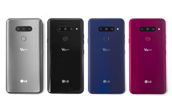 LG V40 ThinQ is announced with five cameras: three at the back, two at the front