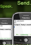 Compose e-mail on your BlackBerry without using fingers with Dragon Dictation